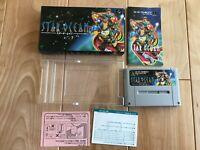 Star Ocean SFC Super Famicom SNES NTSC-J BOXED JAPAN Import CIB F/S