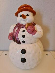 Goebel Schneemann Keksdose  ca. 32- 33 cm RARITÄT selten weihnachten Plätzchen