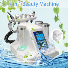 7 in 1 Vacuum Face Cleaning Facial Machine Water Oxygen Jet Peel Massage Skin
