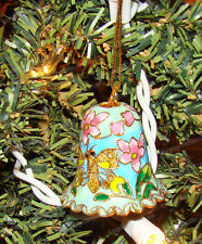 Hand Painted Baked Enamel Bumble Bee Holiday Ornament (Kubla Crafts, 4553B)