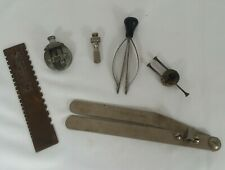 VINTAGE WATCH REPAIR TOOL LOT OF 6 WATCHMAKERS BENCH TOOLS AND VISES
