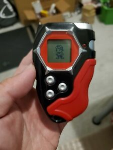 Digimon Digivice D-Scanner D-Tector 2002 Bandai English Version Red/Black