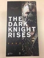 Hot Toys MMS 183 The Dark Knight Rises Batman Bane Tom Hardy 1/6 Figure NEW
