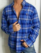mens - RALPH LAUREN shirt - L - SLIM FIT - STRETCH OXFORD - PLAID - Button-Down