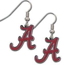 Alabama Crimson Tide Script 'A' Dangle Earrings- 10% Discount On Multiple Pairs!