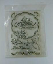 NEW STAMPENDOUS PERFECTLY CLEAR STAMP ALLELUIA  SSC1041