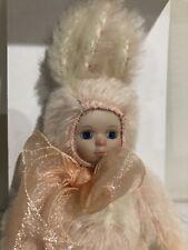 Marie Osmond Bit O Bunny Series Just Peachy Mib Coa