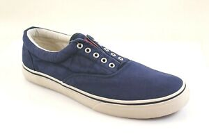 Polo Ralph Lauren Men's Washed Twill Thorton Sneakerst - Choose Size & Color
