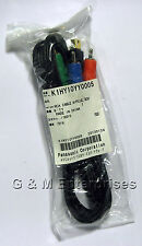 New Panasonic K1HY10YY0005 Component Video Cable for AG-AC7, AG-HMC40 US Seller