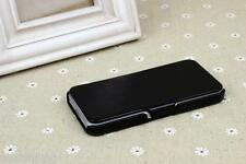 Premium Quality Leather Hard case cover+Screen Protector for iPhone 5 5S