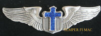 CHRISTIAN PILOT WINGS CROSS PIN JESUS CHAPLAIN US ARMY NAVY MARINES AIR FORCE