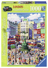 RAVENSBURGER 2014 LONDON PICCADILLY CIRCUS 1000 PIECE JIGSAW PUZZLE - NEW