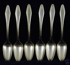 Brooklawn Plate Silverplate Spoons 6 pc.