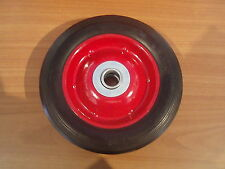 """Brand New Pair of small trolley wheels 6"""" x 1.5"""" /colour may vary"""