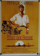 (Gerollt) Kinoplakat - Stadt der Freude (1992) Patrick Swayze #2203