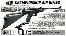 1974 small Print Ad of Precise Imports PIC El Gamo Model 68 Air Rifle Pellet Gun