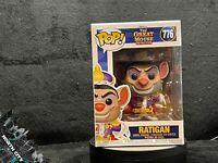 Funko Pop! #776 Professor Ratigan (Great Mouse Detective) Disney w/ protector