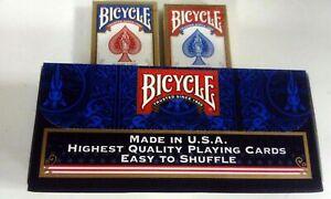 Cartouche Bicycle - 12 Jeux - Standard - 6 Bleus 6 Rouges