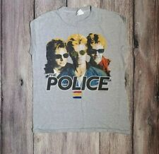 The Police Shirt Vintage tshirt 1983 Synchronicity Tour Concert tee Tank Top 80s