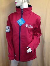 Herren oder Damen Softshelljacke Jacke Wasserdicht rot Gr. XL von Off Shore