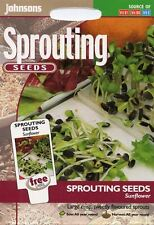 Johnsons - Pictorial Pack - Vegetable - Sunflower (Sprouting Seeds) - 20g Seeds