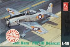 Hobby Craft 1:48 Viet Nam F8F-1 B F8F-1B Bearcat Triple Play Plastic Kit #HC1442