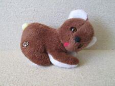 1x Vintage Knickerbocker Toy Co USA Musical Wind Up BROWN BEAR Stuffed Plush