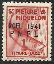 St pierre & Miquelon - Timbre-Taxe - N° 49 Neuf sans charnière.