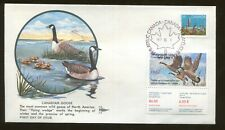 1987 Canada Goose Wildlife Conservation Duck Stamp #CN3 FDC Gill Craft