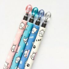 Cat 8pcs Cute Cat Automatic Pencil Writing School Office Kids Supplies #HY8