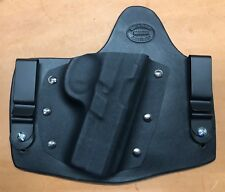 Leather Kydex hybrid IWB holster for S&W Sigma