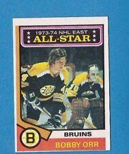 Bobby Orr Boston Bruins 1974-75 Topps Hockey Card #130