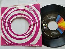 "LISA LOPEZ - Sera El Angel / Dios Me Libre 1987 LATIN POP Musart 7"""