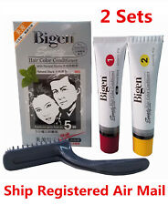 Japan Bigen Speedy Hair Dye Hair Color Conditioner Natural Black #881 x 2 Sets