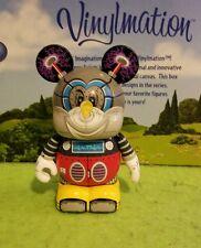 """DISNEY VINYLMATION Theme Park 3"""" Robots Set 3 Mickey Mouse Bot Robot"""