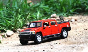 1:26 Maisto Alloy SUV Car Model  Boys Toys GIFT For Hummer H3T Pickup Truck
