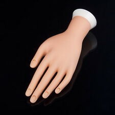 Practice Left Hand Model for Nail Art Training and Display Manicure VO