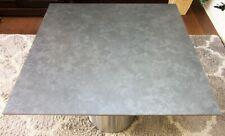 HPL Platte Tischplatte 8mm NM07 Casted Grey einseitig 797x766 mm TRESPA® Meteon®