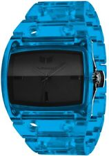 New Vestal Destroyer Translucent Blue Watch Analog