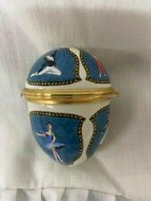 Halcyon Days Enamel Egg - Bolshoi Ballet