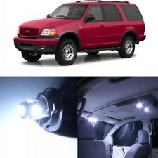 15 x White LED Interior Light Package For 1997 - 2002 Ford Expedition + PRY TOOL