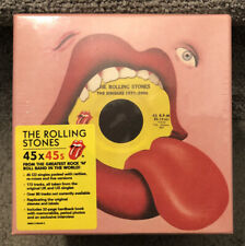 THE ROLLING STONES Complete Singles 45 X 45s Cd Box Set 2011 NEW SEALED