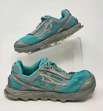 Altra Mens Lone Peak 4 Green Hiking Shoes Size 8.5