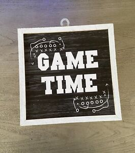 Game Time Wall  COVER ART Distressed