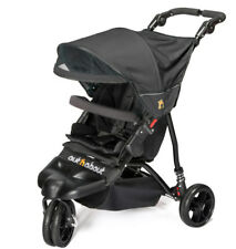 Brand new Out n About little nipper single stroller Jet black with pvc & basket