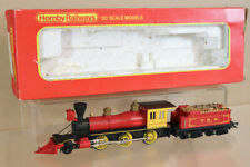 TRIANG R358S OLD TIME WILD WEST 2-6-0 LOCOMOTIVE DAVY CROKETT with SMOKE oa