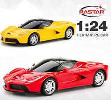 LICENSED 1:24 FERRARI LAFERRARI ELECTRIC RC RADIO REMOTE CONTROL MODEL CAR TOY