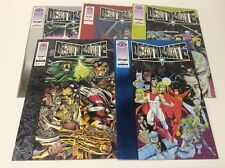 DEATHMATE VALIANT CROSSOVER (VALIANT/1993/0617262) COMPLETE SET LOT OF 5