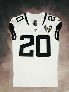 100% Authentic Nike 2019 Jaguars Jalen Ramsey Game Issued Jersey SZ 40 Road