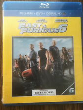 Fast & Furious 6 Blu-Ray + DVD + Digital HD (Includes Extended and Theatrical)